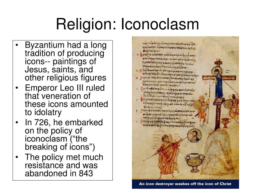 Religion: Iconoclasm
