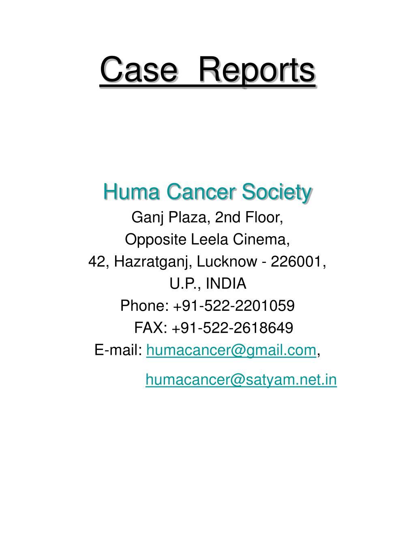 case reports l.
