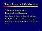 clinical research collaboration