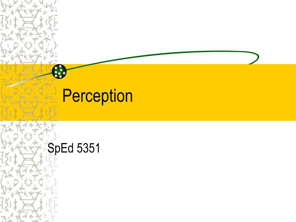 perception l.