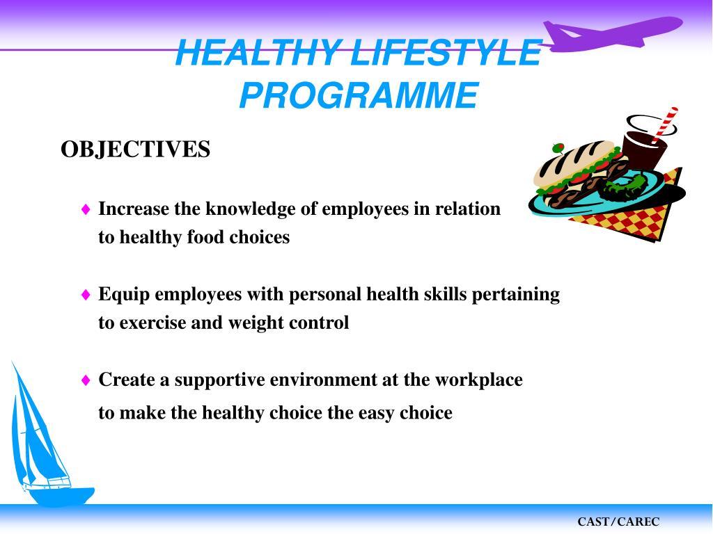 HEALTHY LIFESTYLE PROGRAMME