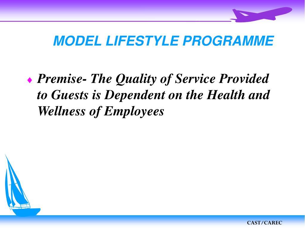 MODEL LIFESTYLE PROGRAMME