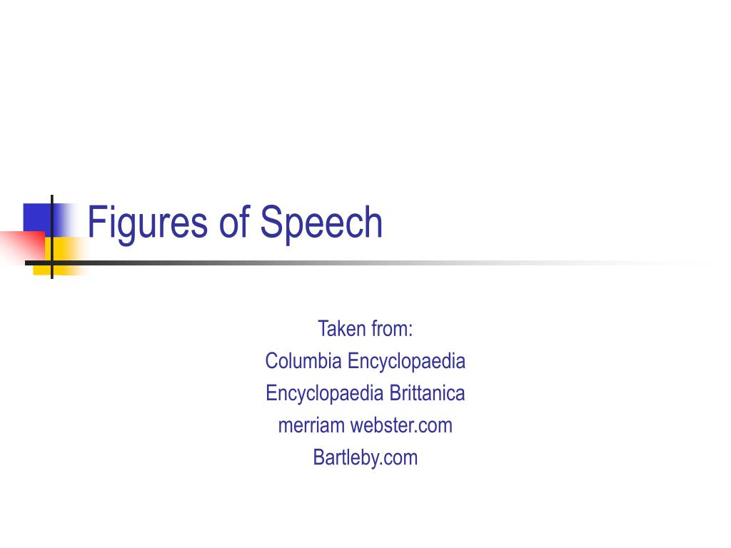 figures of speech l.