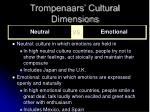trompenaars cultural dimensions10