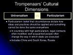 trompenaars cultural dimensions7
