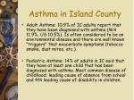 asthma in island county