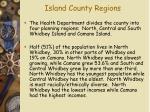 island county regions