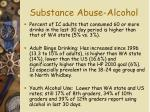 substance abuse alcohol