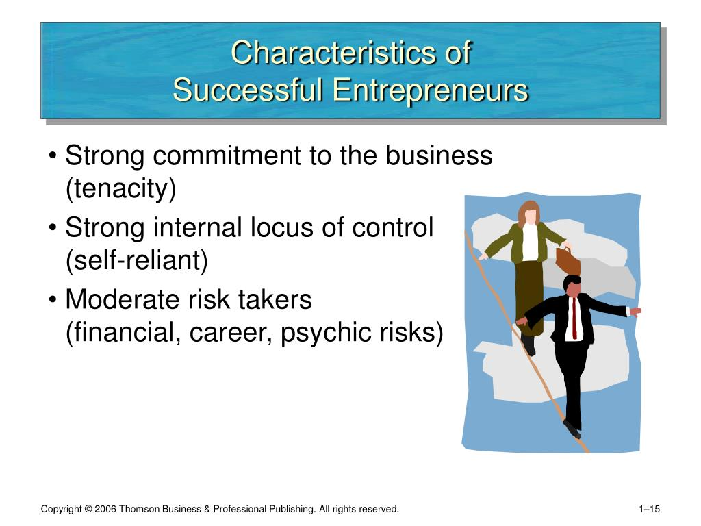 the characteristics of a successful immigrant Interviews with dozens of successful immigrant but high-achieving immigrants display a common body of beliefs and personality characteristics.