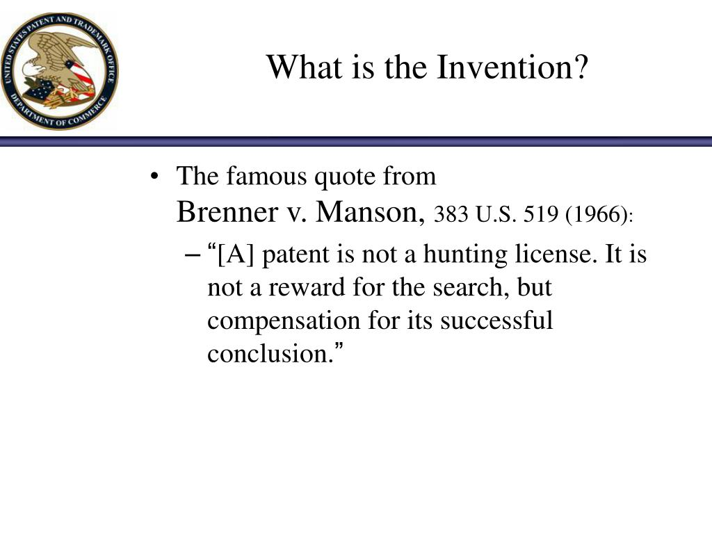 What is the Invention?