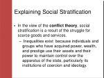 explaining social stratification1