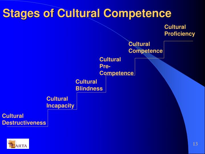 Stages of Cultural Competence