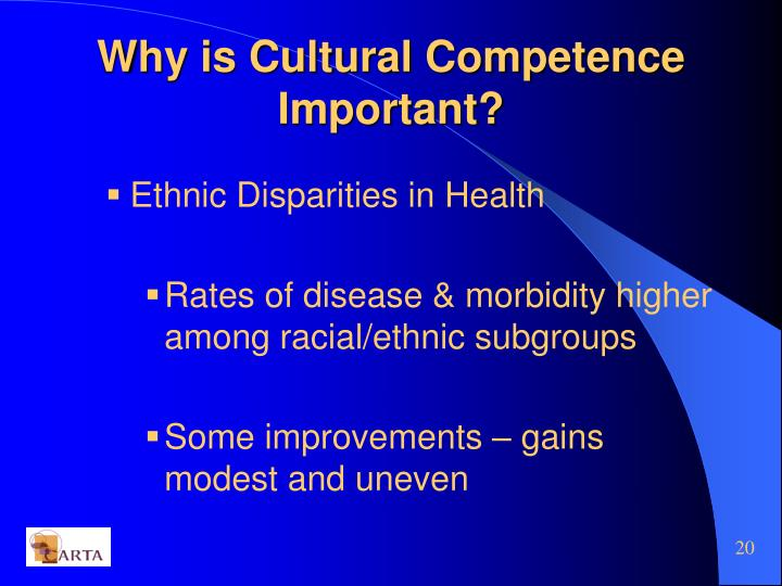 Why is Cultural Competence Important?