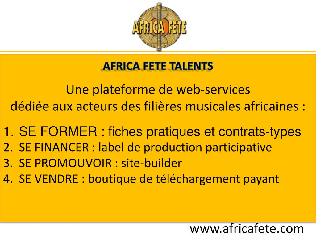 AFRICA FETE TALENTS