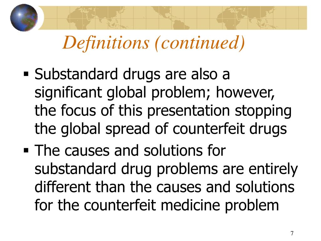counterfeit drugs problems and solutions