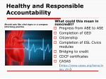 healthy and responsible accountability14