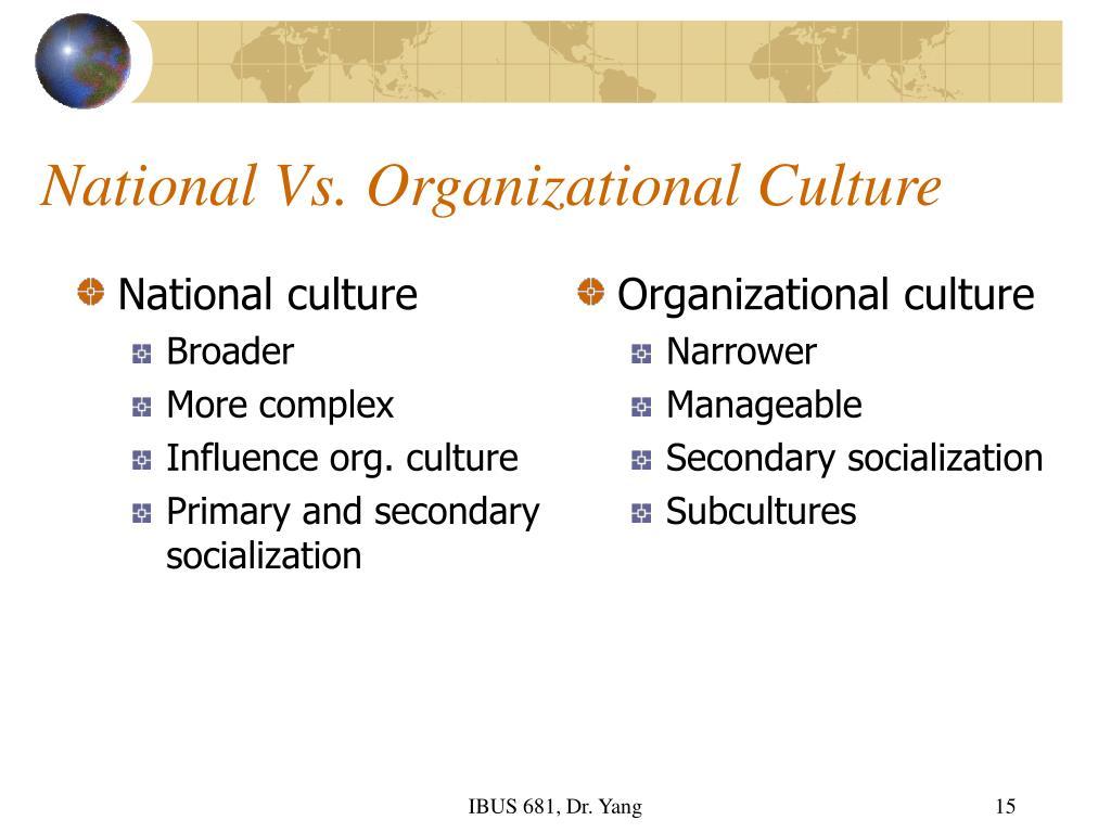 organizational culture of ptcl