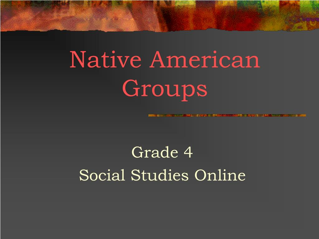 native american groups l.