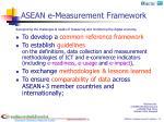 asean e measurement framework