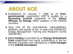 about ace
