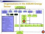 organizations in the asean energy sector