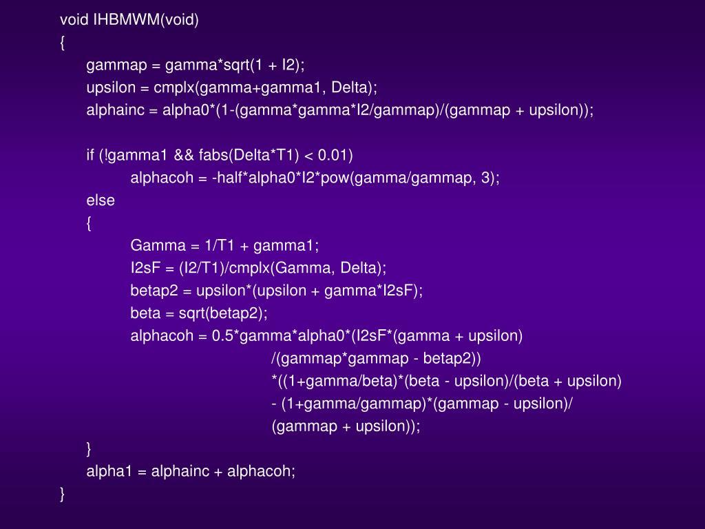 Unicode Support For Mathematics PowerPoint
