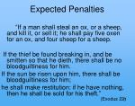 expected penalties
