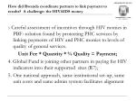 how did rwanda coordinate partners to link payment to results a challenge the hivaids money