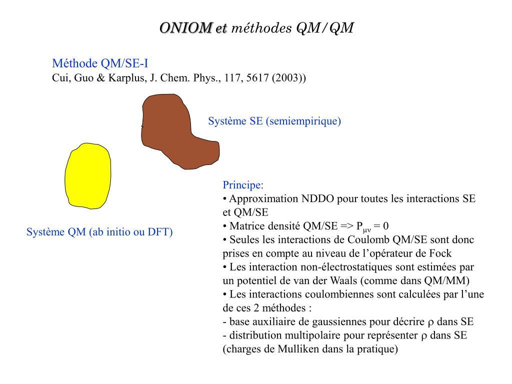 ONIOM et