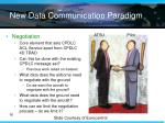new data communication paradigm
