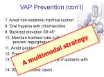 vap prevention con t