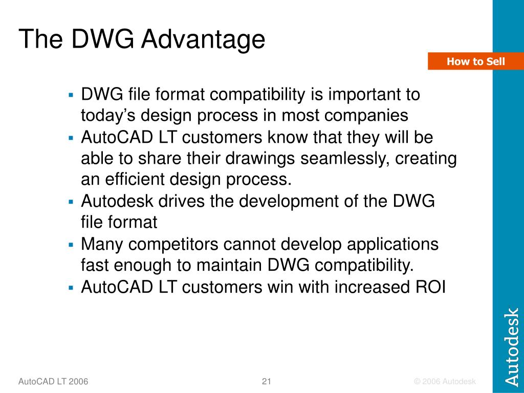 The DWG Advantage