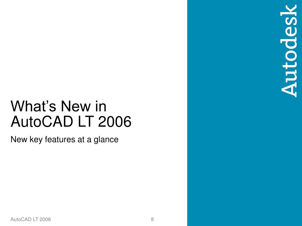 What's New in AutoCAD LT 2006