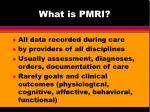what is pmri