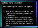 definisi harta inventori