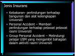 jenis insurans