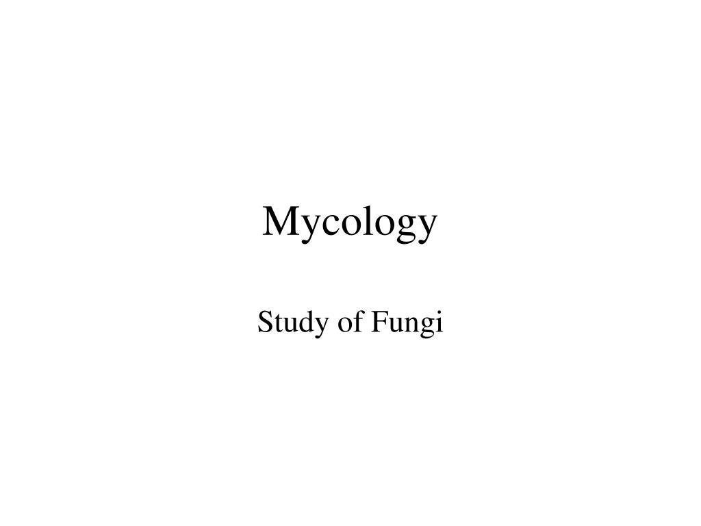 mycology l.