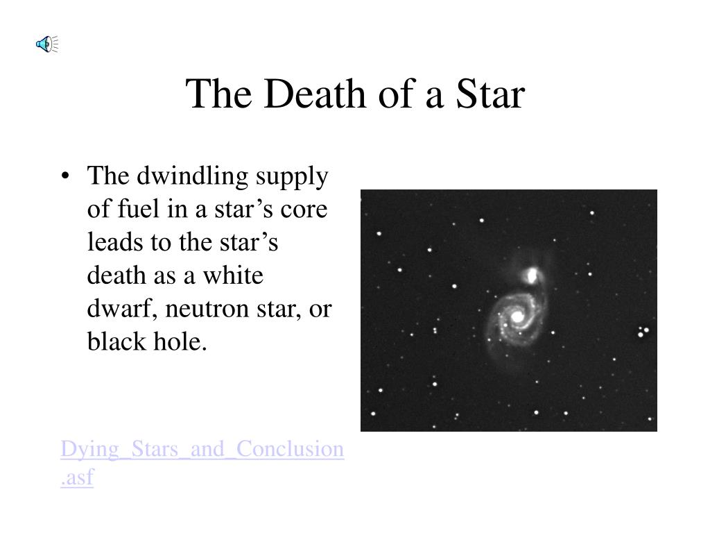 The Death of a Star