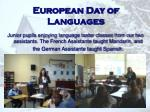 european day of languages11