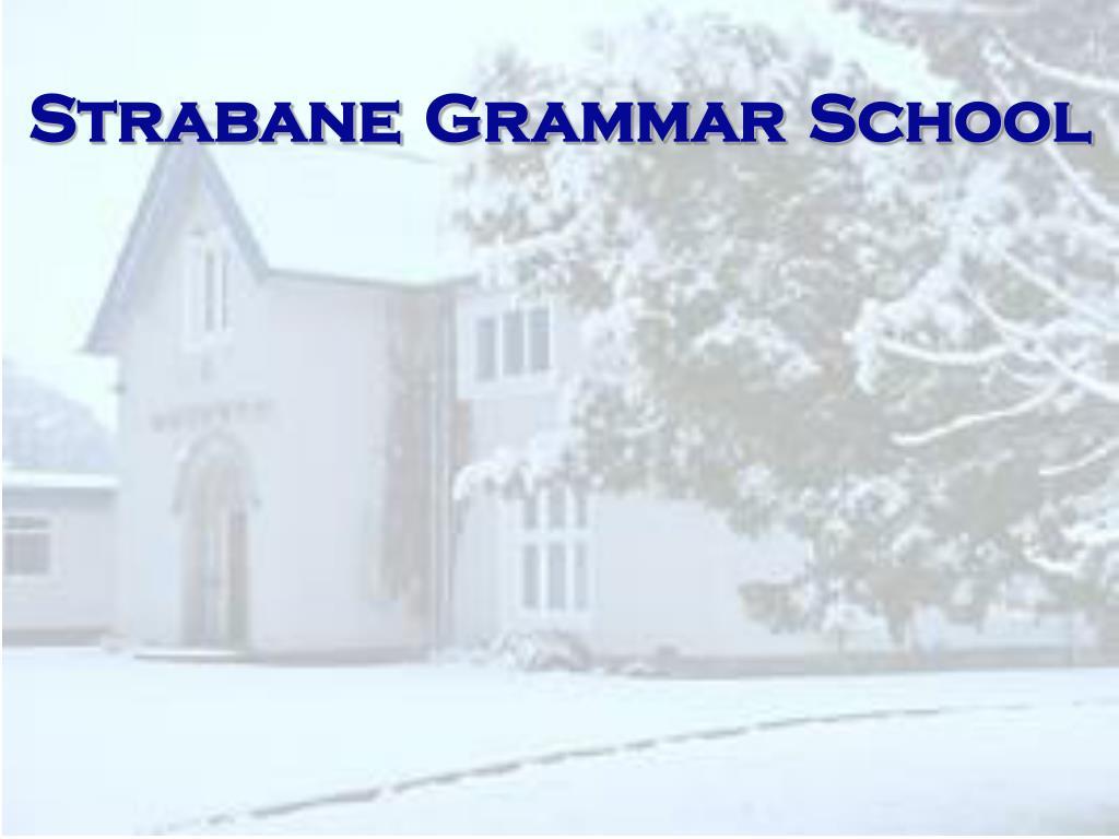 strabane grammar school l.