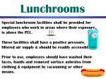 lunchrooms
