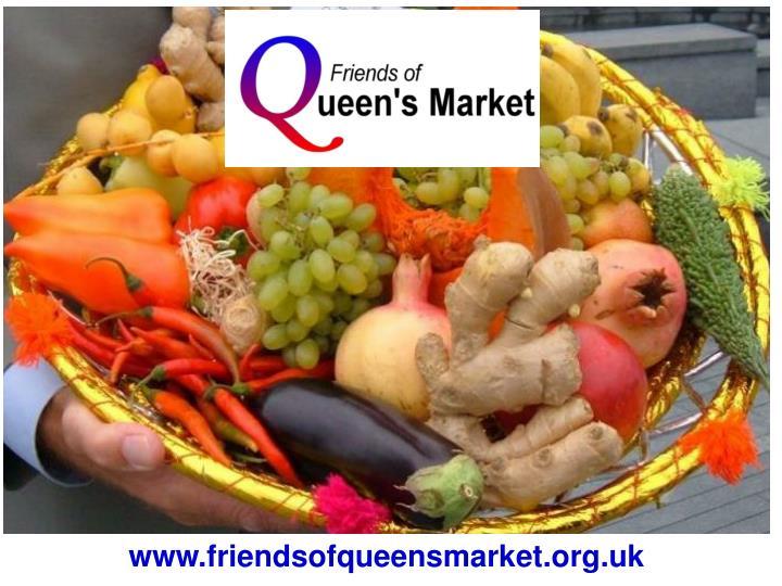 Www friendsofqueensmarket org uk