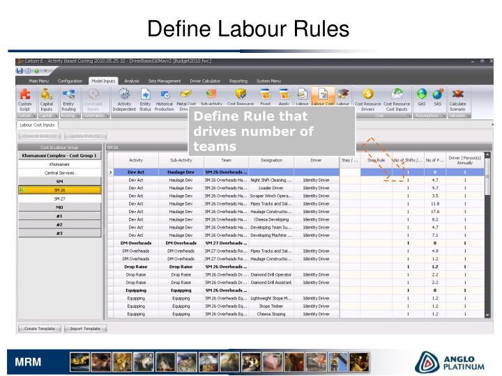 Define Labour Rules