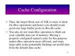 cache configuration54