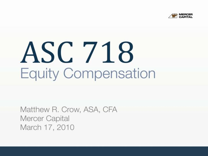 asc 718 equity compensation n.