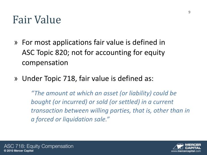 codification stock and fair value essay  value stock vs growth stock september 14, 2013 growth and value are styles of investing in stocks (emerald, 2013) analysts commonly classify companies with low market-to-book ratios as value stocks, and firms with high market-to-book ratios as growth stocks (berk & demarzo, 2011.