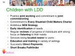 children with ldd
