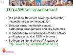 the jar self assessment
