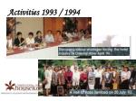 activities 1993 19941