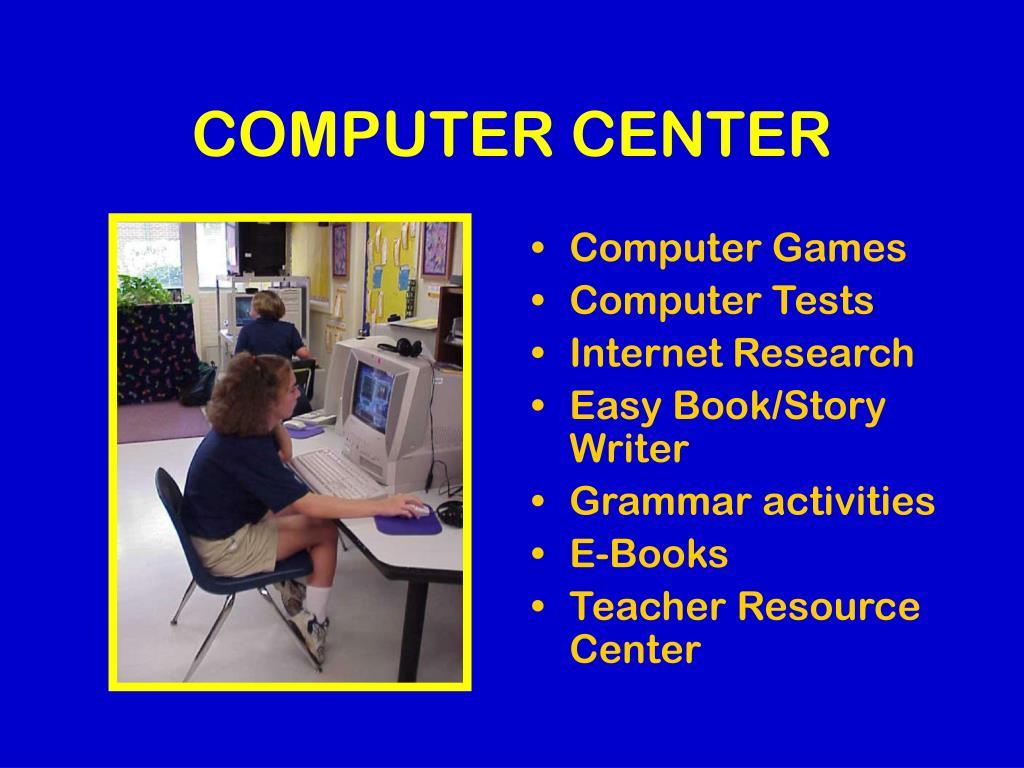 COMPUTER CENTER